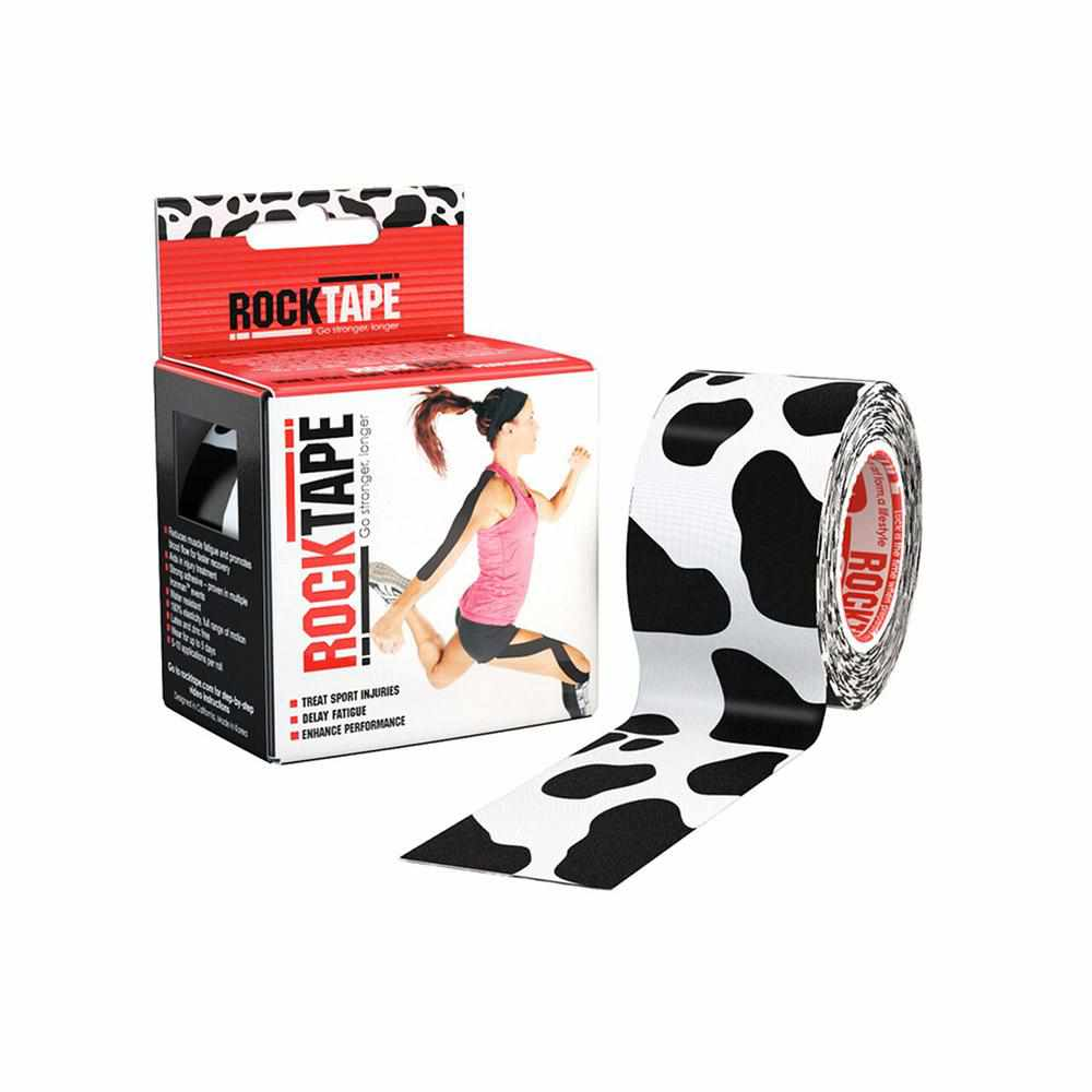 Rocktape Cow Pattern 5cm x 5mtr Roll-RockTape New Zealand-RockTape New Zealand