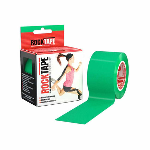 Rocktape Plain Green 5cm x 5mtr Roll