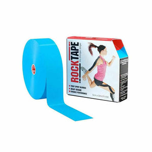Rocktape Plain Blue 5cm x 32mtr Practitioner Roll