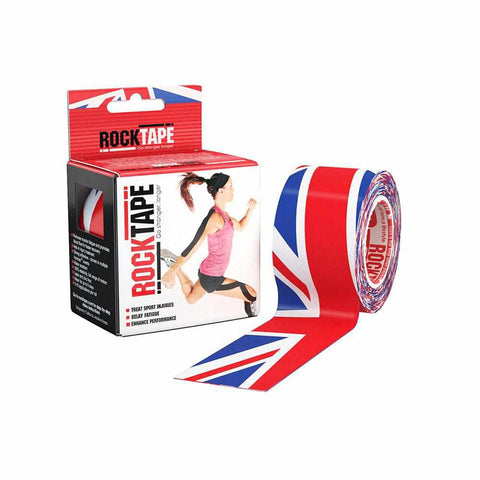 Rocktape Union Jack Pattern 5cm x 5mtr Roll