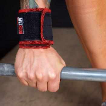 Rocktape Rockwrists Black/Red