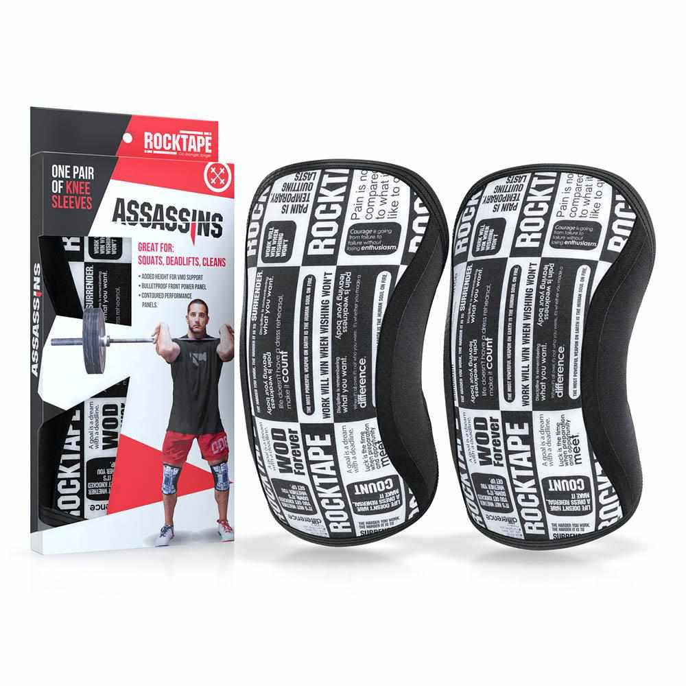 Rocktape Assassins Knee Sleeve - Manifesto 5mm