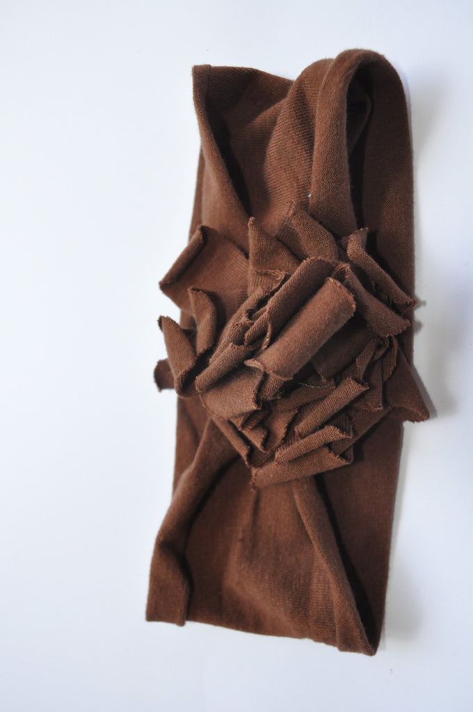 Wide-fit Headband | Brown