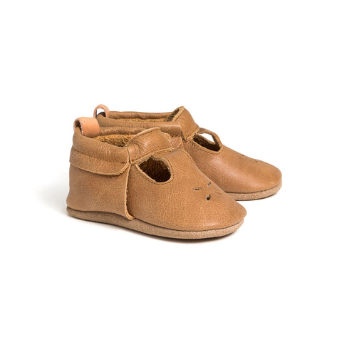Mary Jane Shoe - Caramel