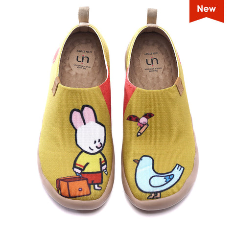 Cute Friends Canvas Shoes