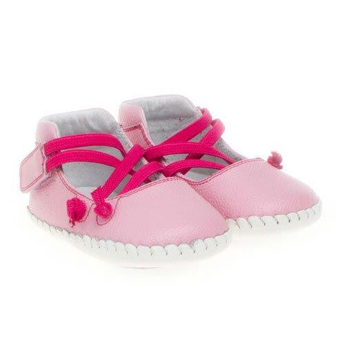 Lacey - Pink Baby Soft Sole Shoes