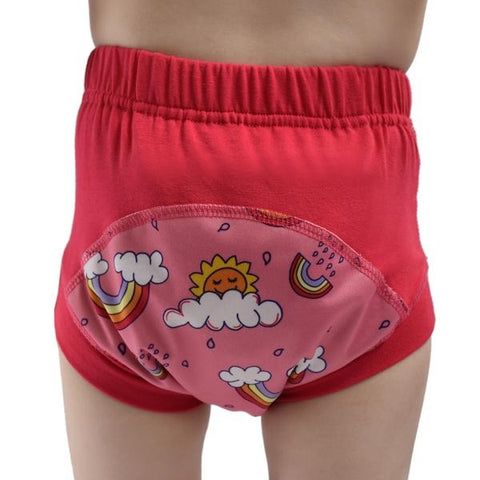 Wee Pants Toilet Training Undies - Rainbows