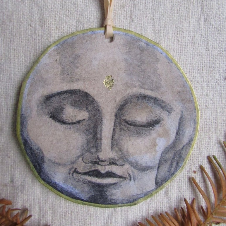 Christmas Decoration - Moon Face