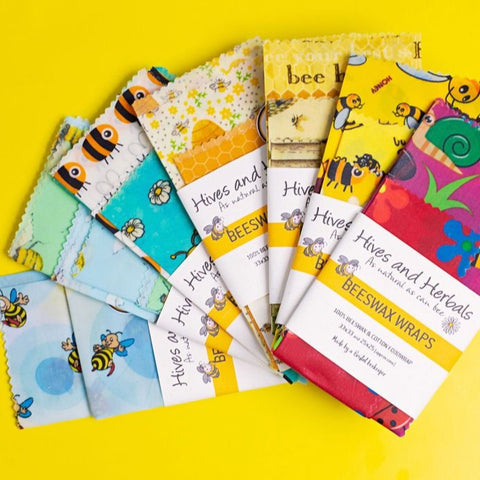 Beeswax Food Wraps - Various Pack Sizes