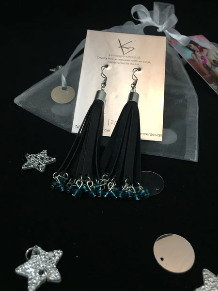 Mini Tassel Earrings (Various Colours)