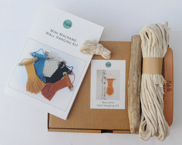 Macrame Wallhanging Kit
