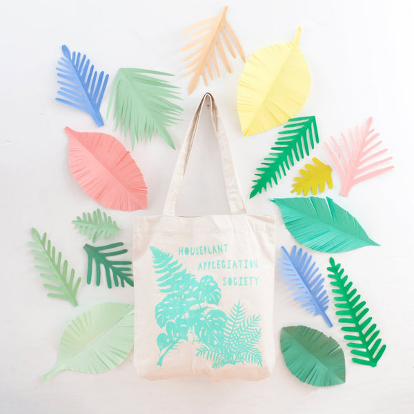 Houseplant Appreciation Tote Bag