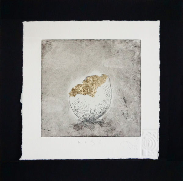 Rise - Egg Etching