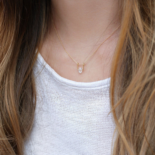 Herkimer Diamond Lia Necklace