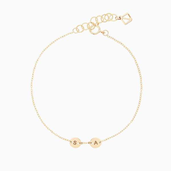 Create Your Own - 2 Initials Bracelet