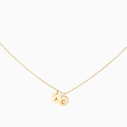 Create Your Own - 2 Initials Necklace