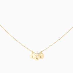 Create Your Own - 3 Initials Necklace