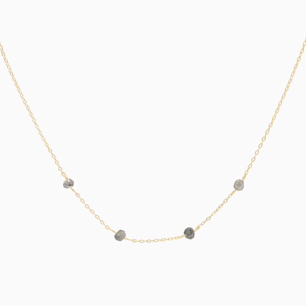 Labradorite Dots Necklace