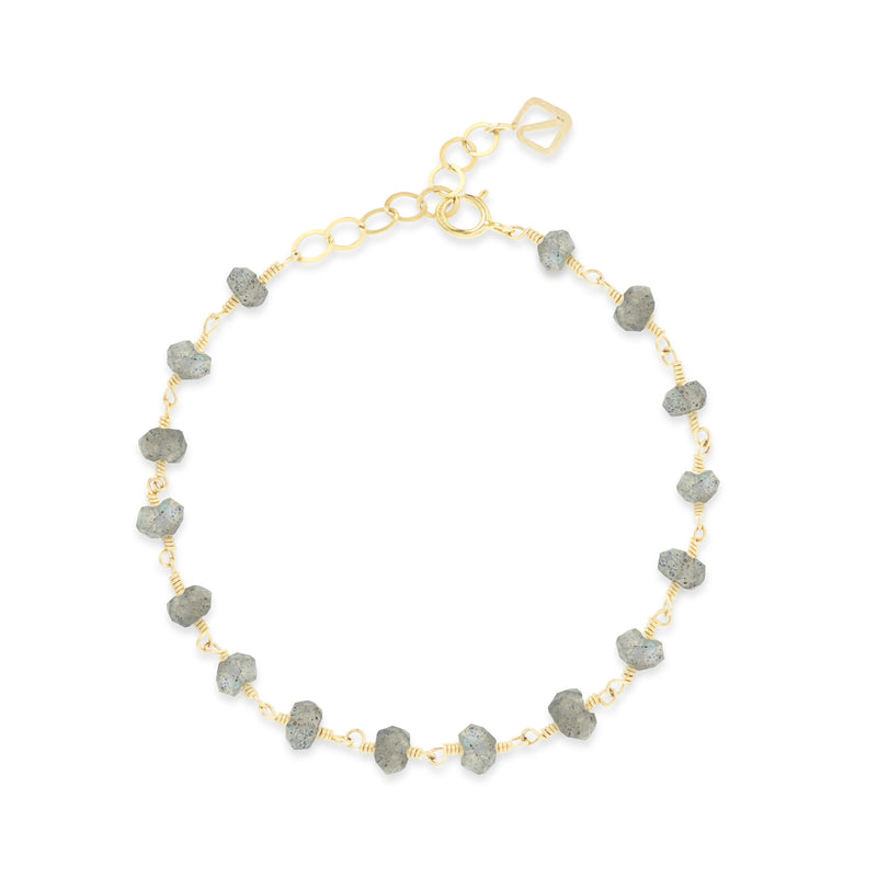 Penny Ball Bracelet - grey