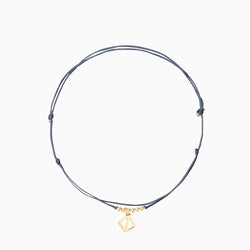 Makaro Mini Anklet - grey