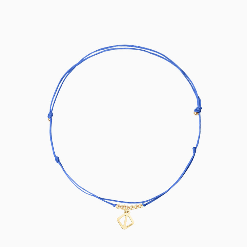 MAKARO Mini Anklet - space blue