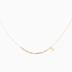 MAKARO m-coded Choker Necklace - beige