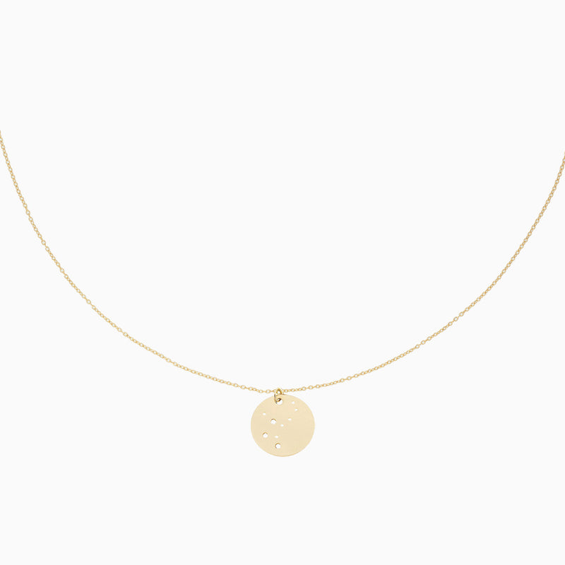 Makaro Zodiac Necklace - Virgo
