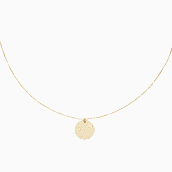 Makaro Zodiac Necklace - Aries