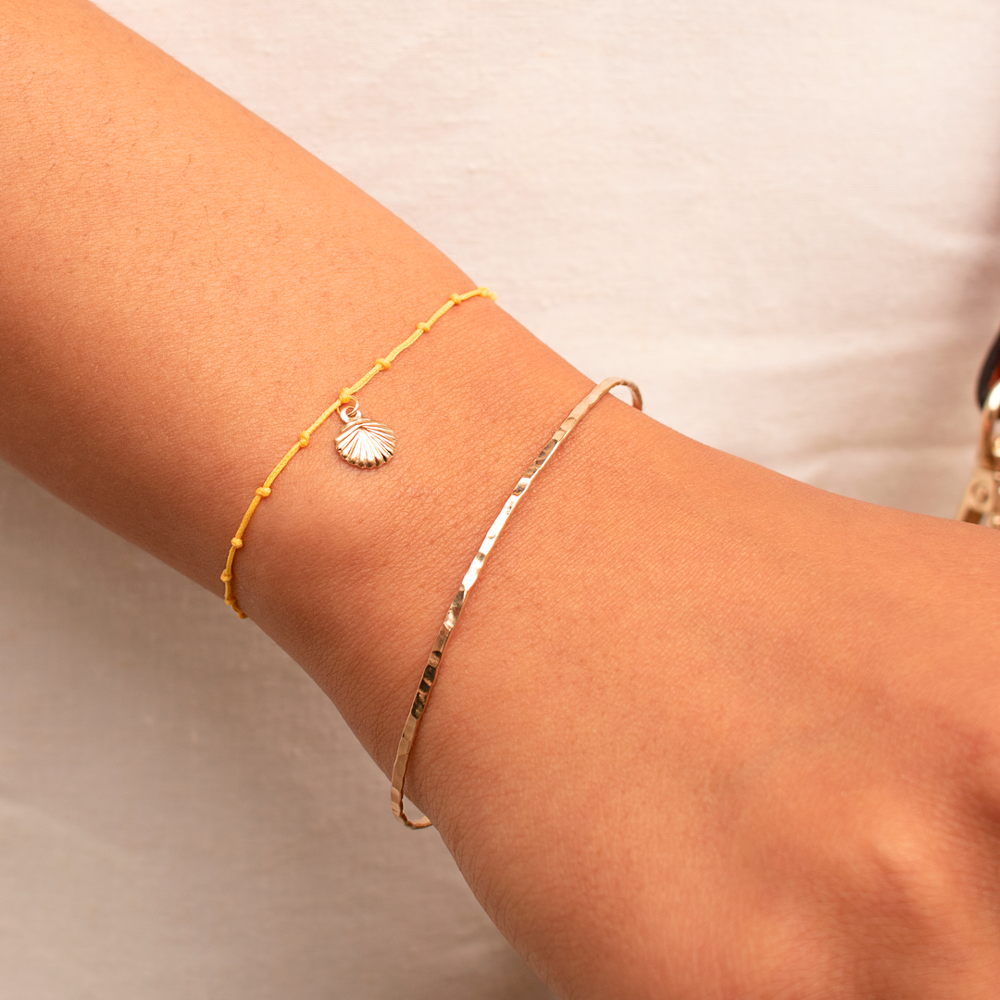 Shell Bracelet - Yellow