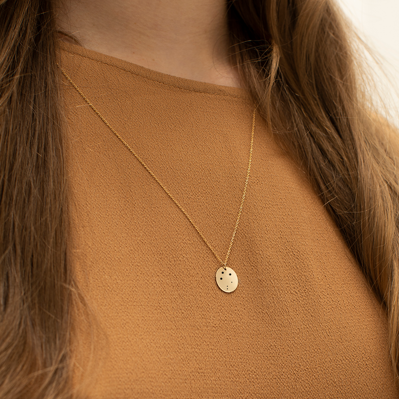 Makaro Zodiac Necklace - Libra