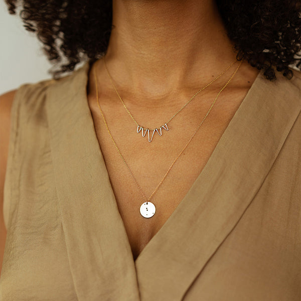 Makaro Zodiac Necklace - Cancer