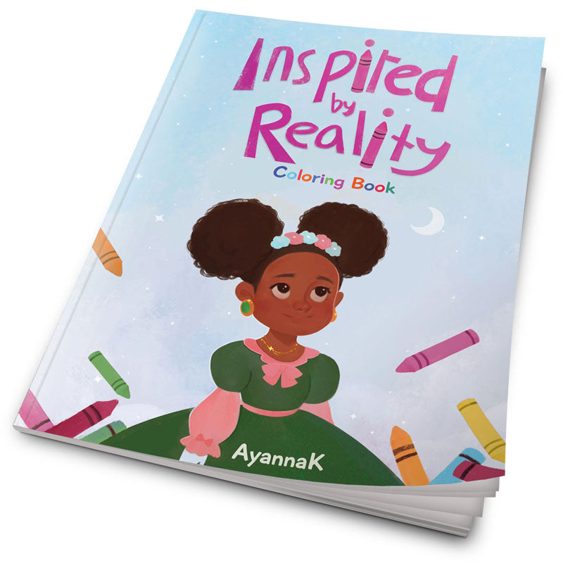 Inspired By Reality Coloring Book - Ayannak.com