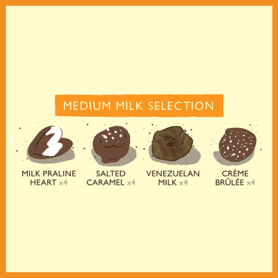 Medium Milk Selection