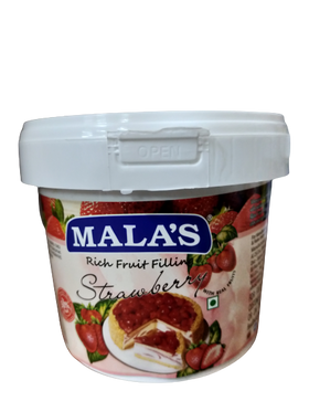 Mala's Rich Strawberry Fruit Filling 1 kg
