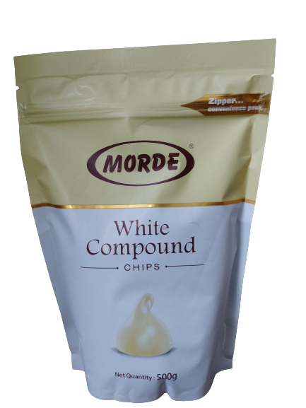 Morde White Compound Chips-500 g