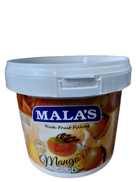 Mala's Rich Mango Fruit Filling 1 kg
