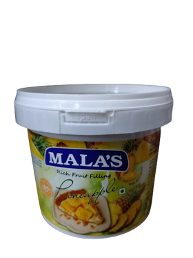 Mala's Rich Pineapple Fruit Filling 1 kg