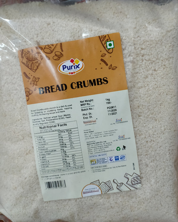 Purix Bread Crumbs 1 kg
