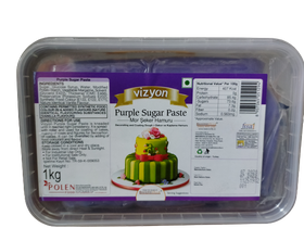 Vizyon Purple Sugar Paste 1 kg