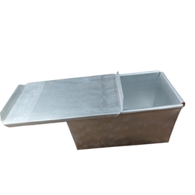 Aluminum Bread Loaf Tin Mould with lid -6
