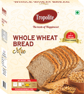Tropolite Whole Wheat Bread Mix 500g