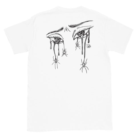 Forever Sad (Tee) - VulgarCat - Chola Crying, Crying, Crying Eyes, Los Angeles, oldies, Sad Forever, Sad Girl, Spider Web Tears, Vulgar, vulgar cat