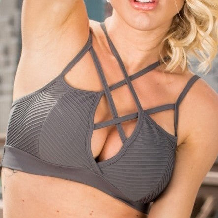 Sexy sports bra, beautiful sports wear, casual activewear