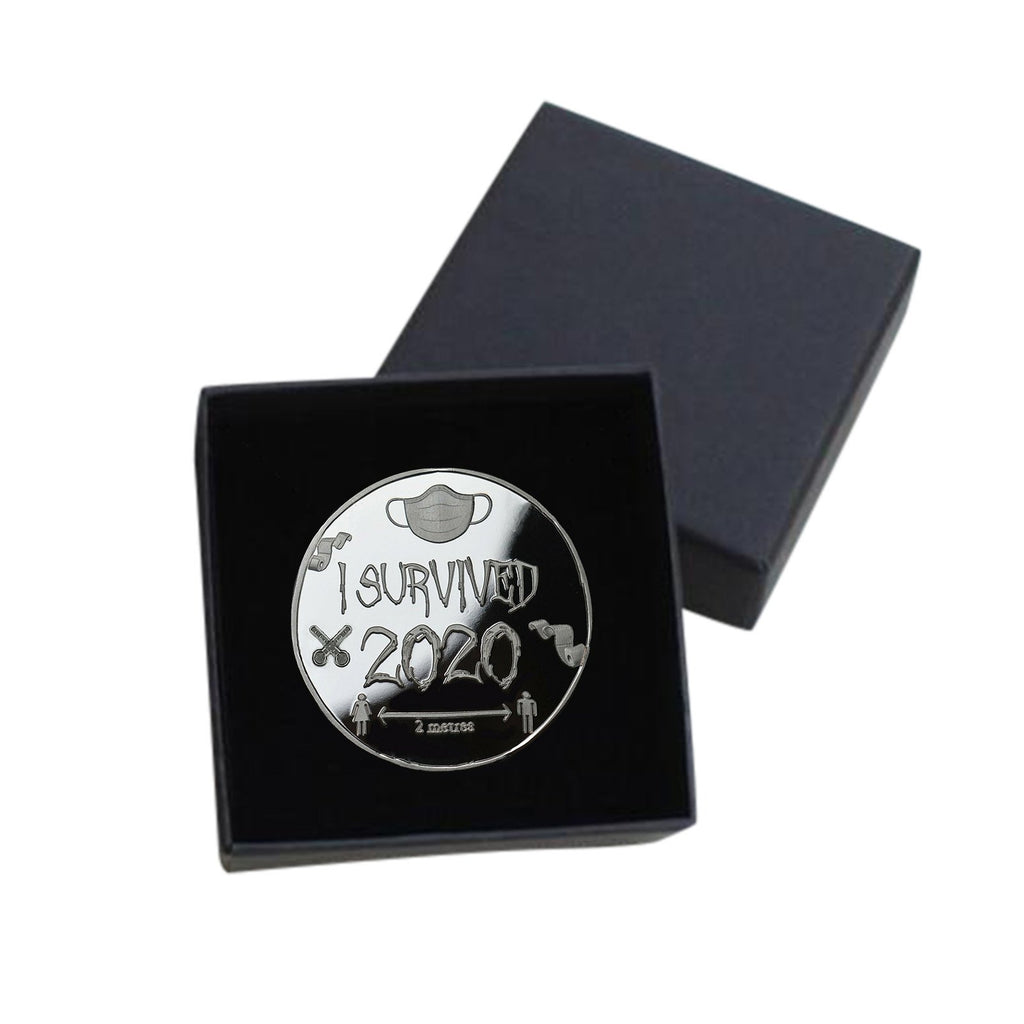 Buy 3 Get 2 Free💝'I SURVIVED 2020' commemorative coin