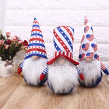 Plush Gnome Doll For American Independence Day Gift and Decoration