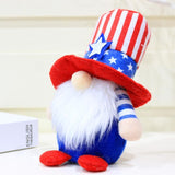 Independence Day Gnome Doll For Holiday Gift And Home Decor