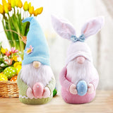 Easter Handmade Gnome Faceless Plush Doll