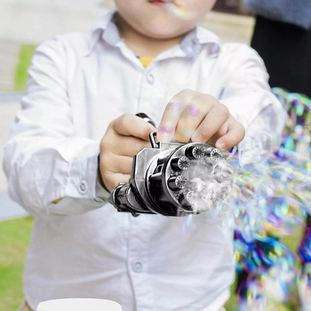 Gatling Bubble Machine 2021 Cool Toys & Gift