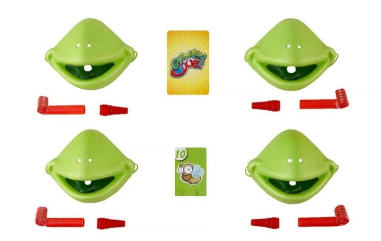 💥Family fun with Tic Tac Tongue&Insect card props included🎁Great Gift For Kids!!!