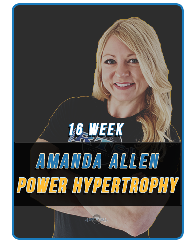 16 Week Amanda Allen Power Hypertrophy Template